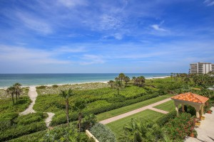 JUST LISTED – Enchanting En Provence Gulf Front Condominium on Longboat Key